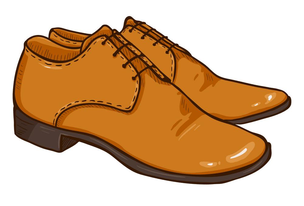 Men Shoes clipart