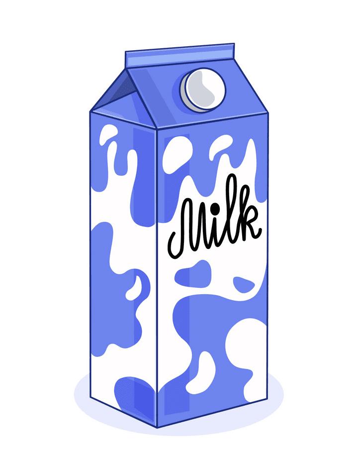 Milk Carton clipart 11