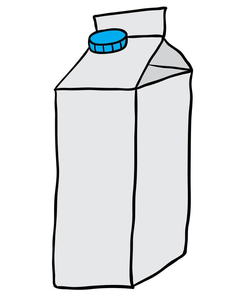 Milk Carton clipart 2