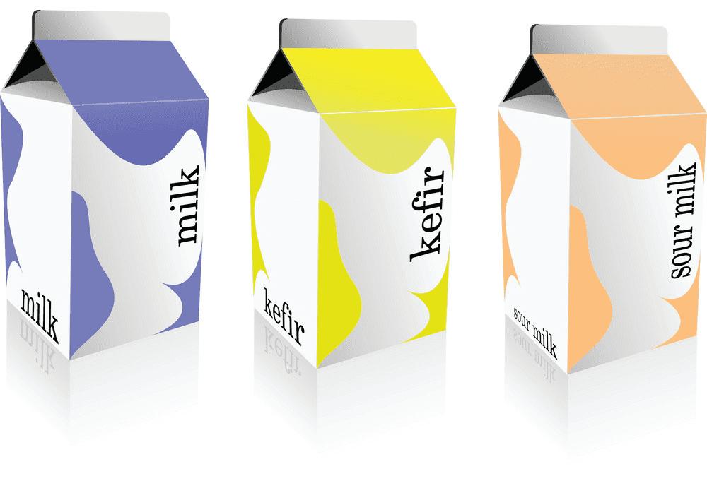 Milk Carton clipart 3