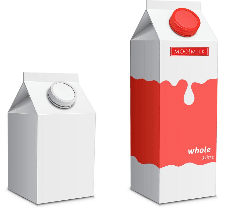 Milk Carton clipart 4