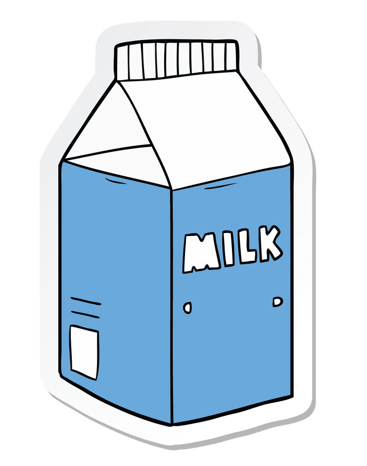 Milk Carton clipart for free
