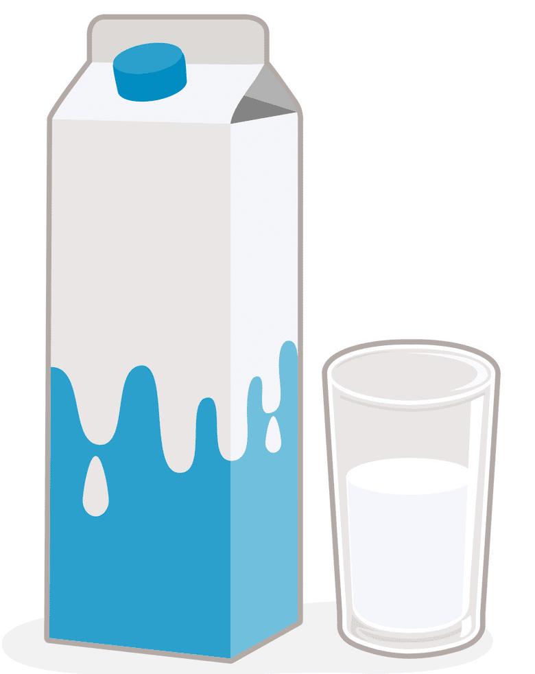 Milk Carton clipart free