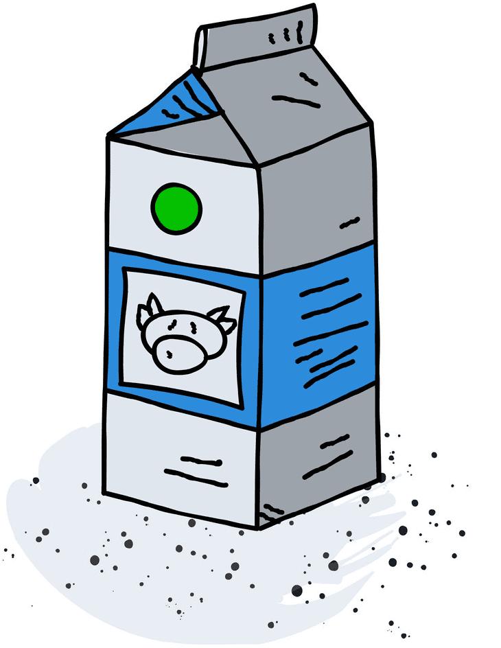 Milk Carton clipart picture