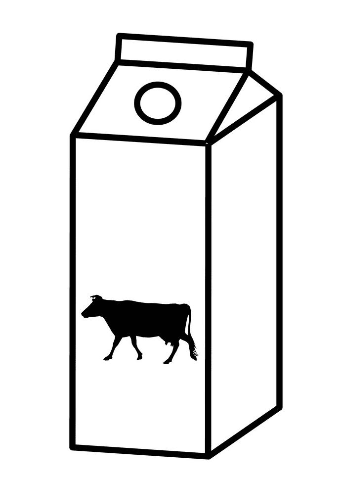 Milk Carton clipart png free
