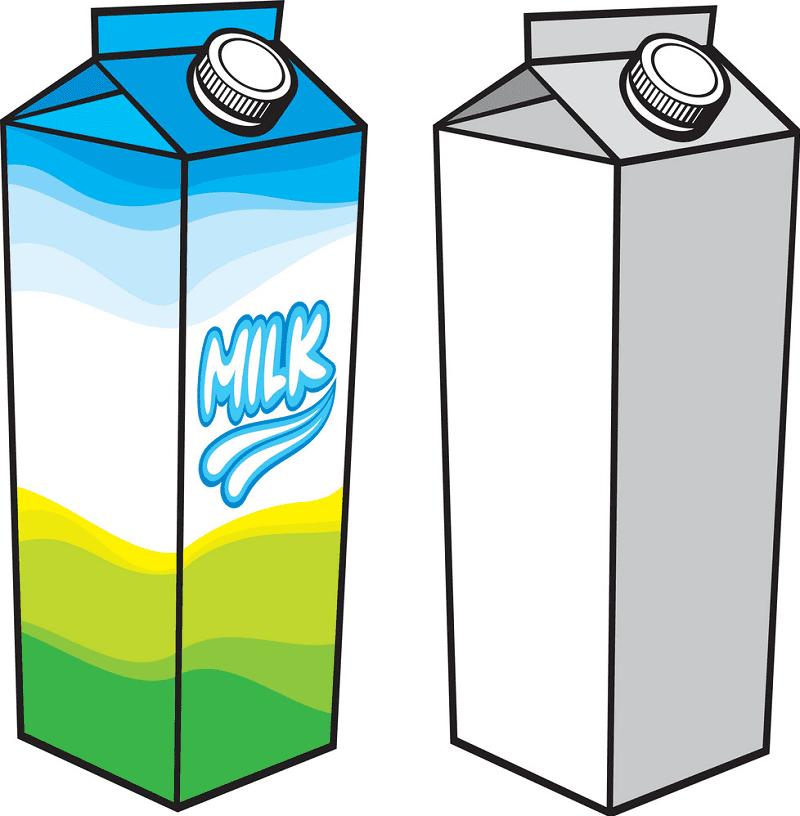 Milk Carton clipart png