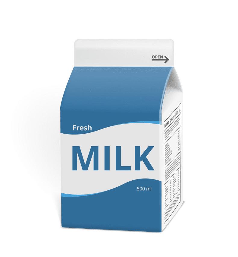 Milk clipart 4