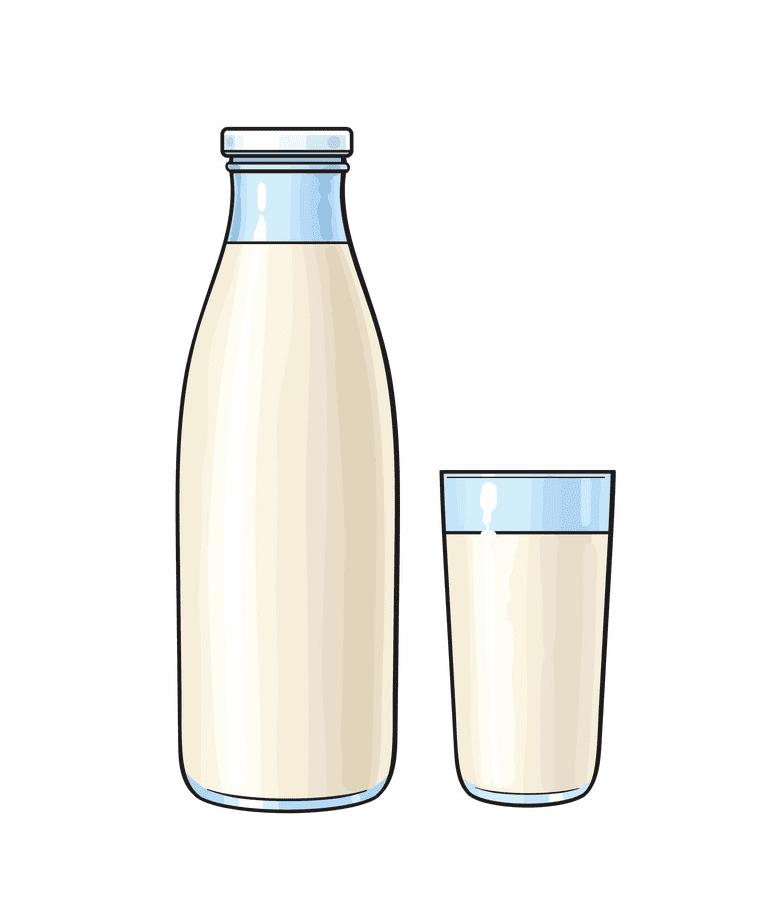Milk clipart free image