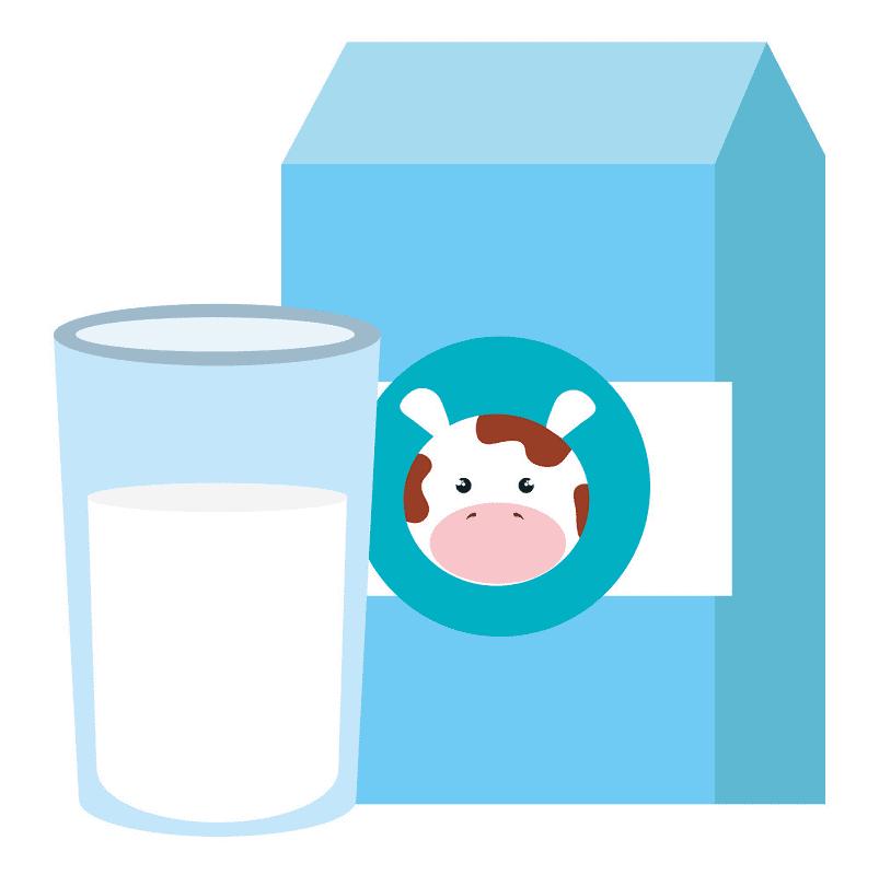 Milk clipart free