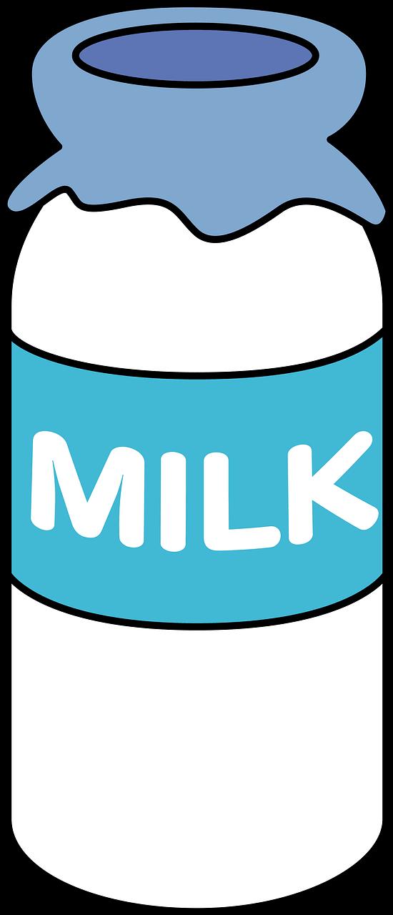 Milk clipart transparent 7