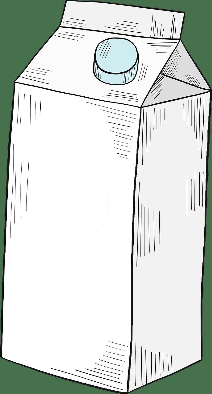 Milk clipart transparent background 1
