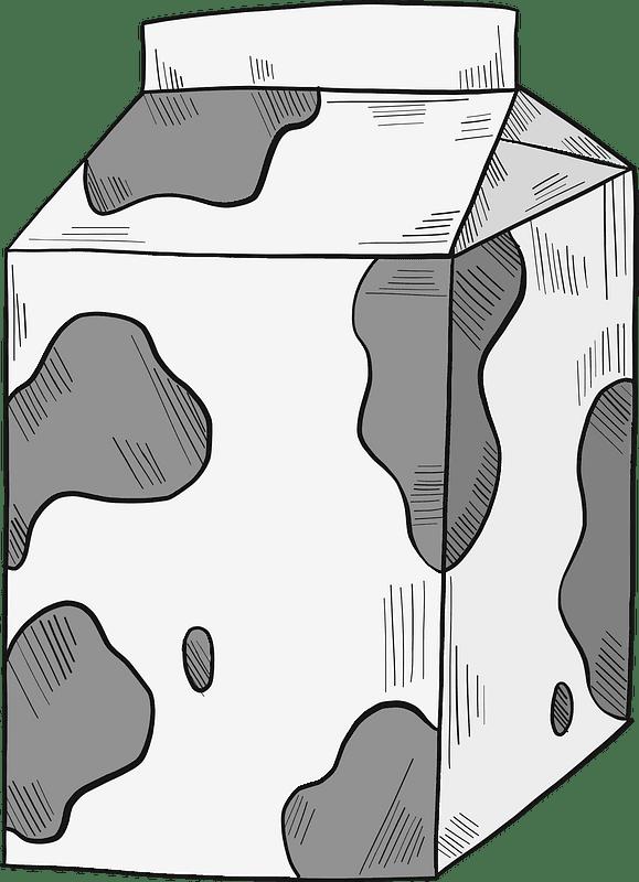 Milk clipart transparent background 4