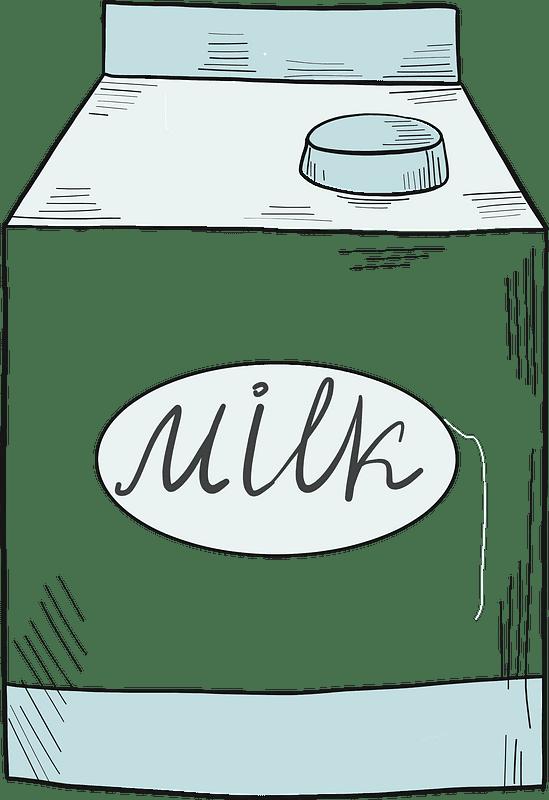 Milk clipart transparent background