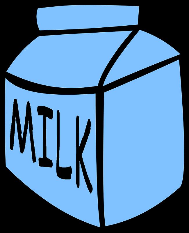 Milk clipart transparent image