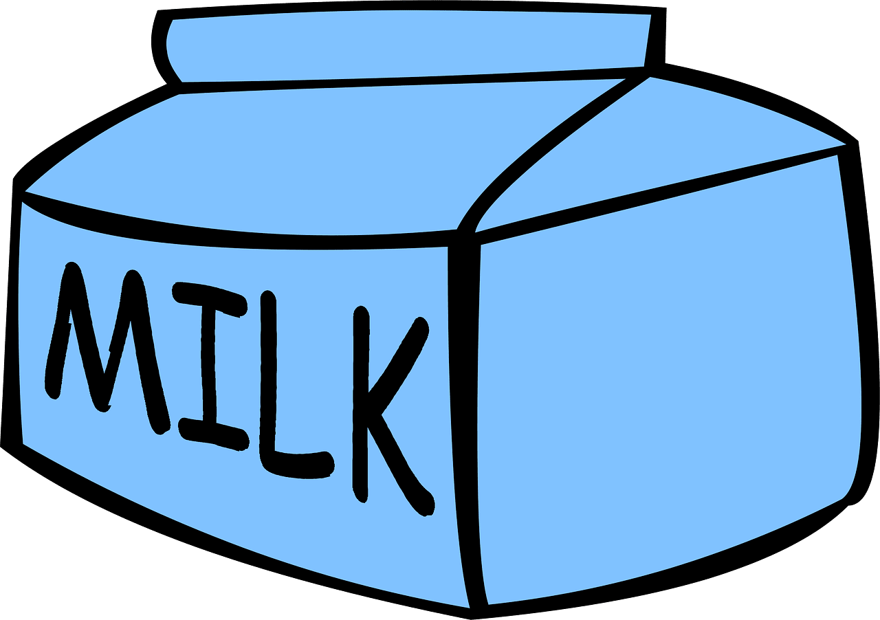 Milk clipart transparent images