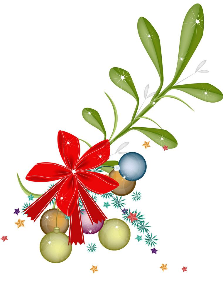 Mistletoe clipart 3