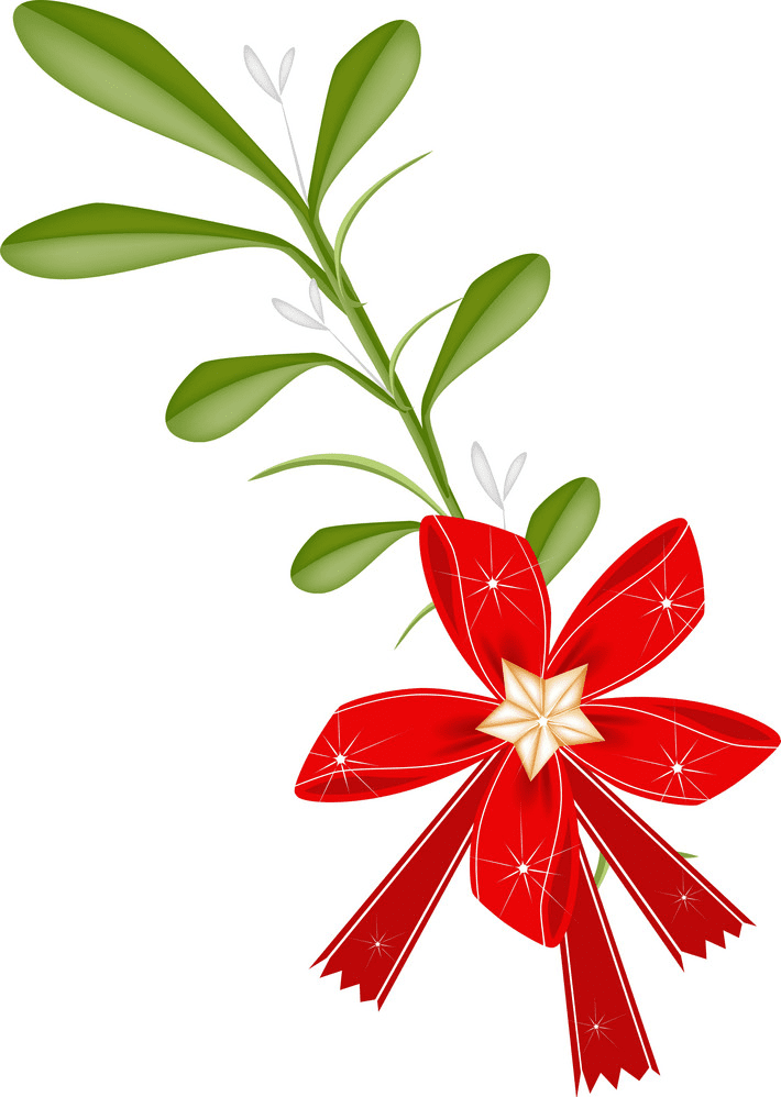 Mistletoe clipart 5
