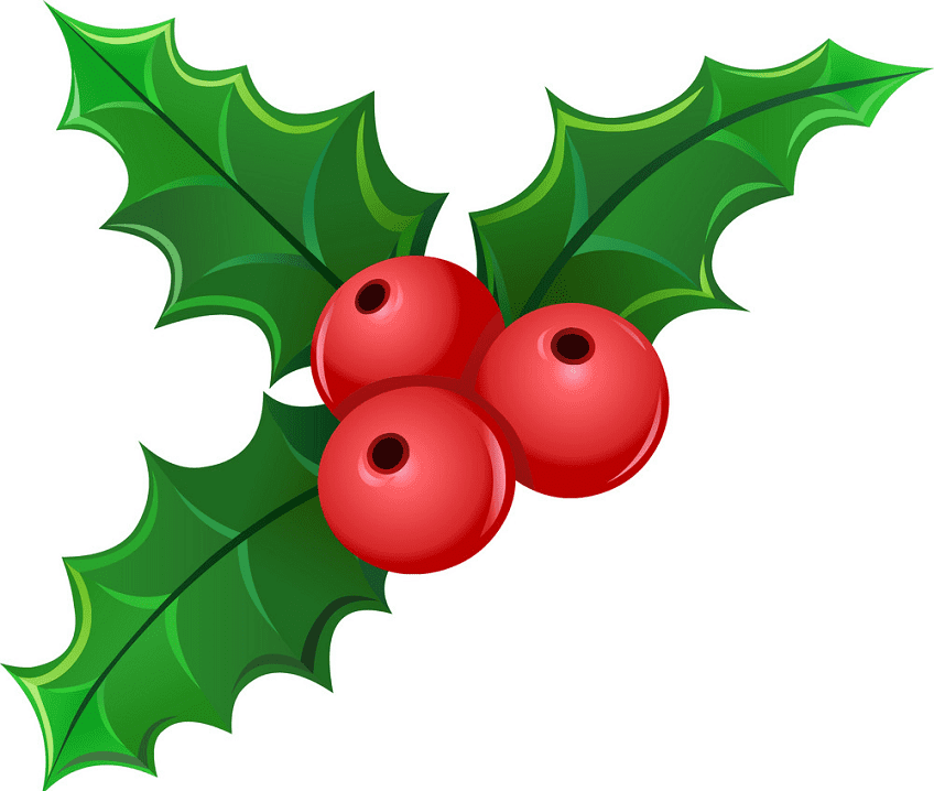 Mistletoe clipart free