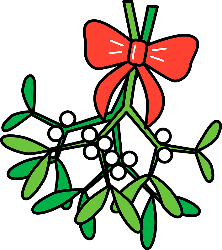 Mistletoe clipart transparent 1