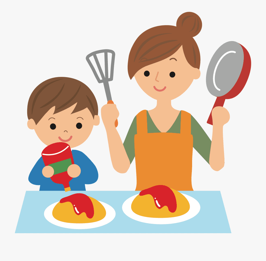 Mom Cooking clipart 4