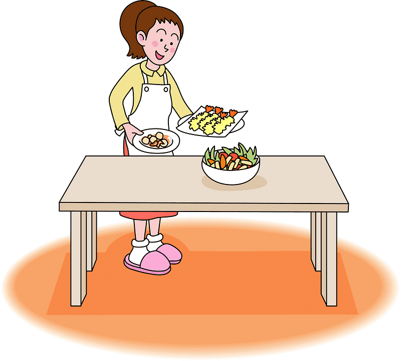 Mom Cooking clipart 5