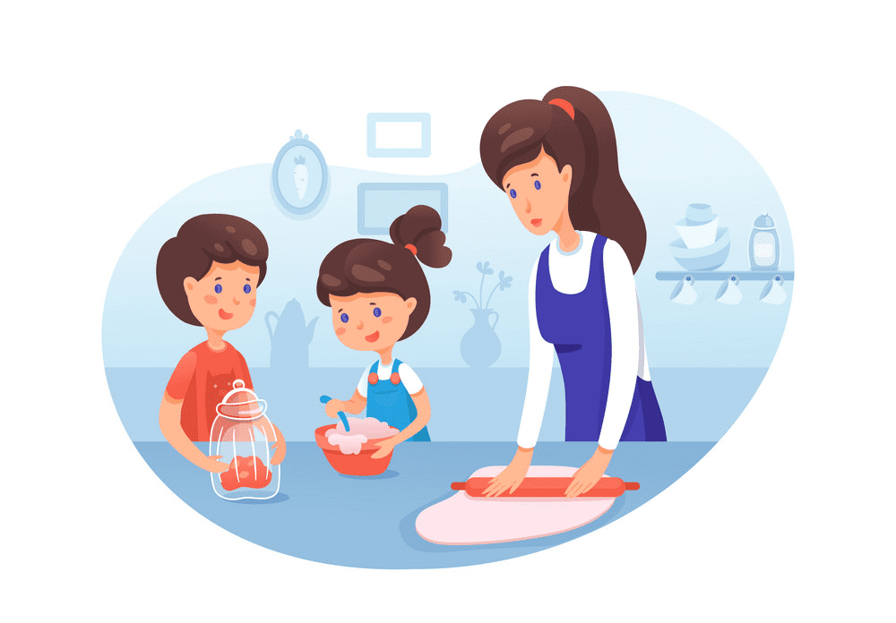 Mom Cooking clipart png free