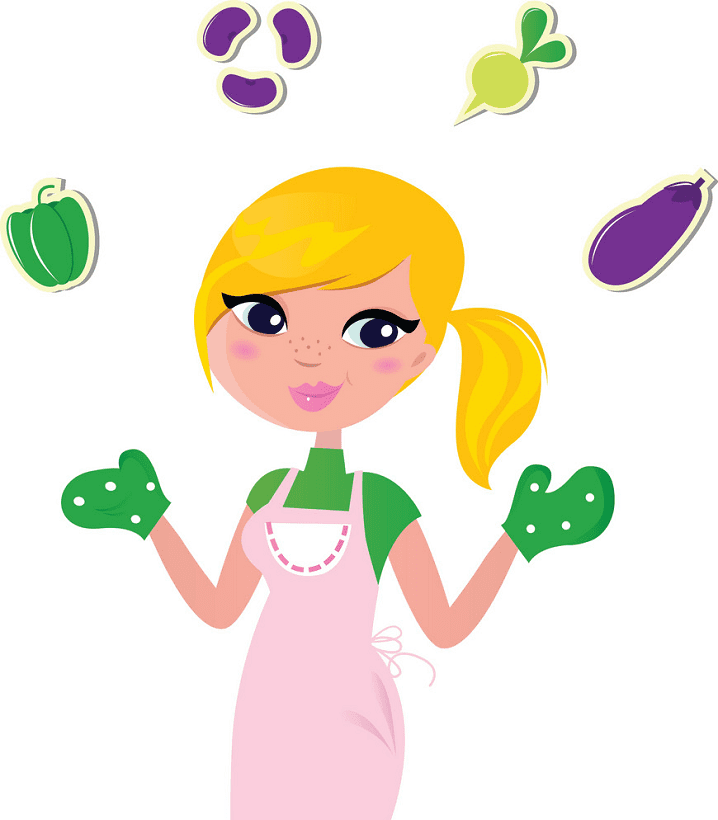 Mom Cooking clipart png image