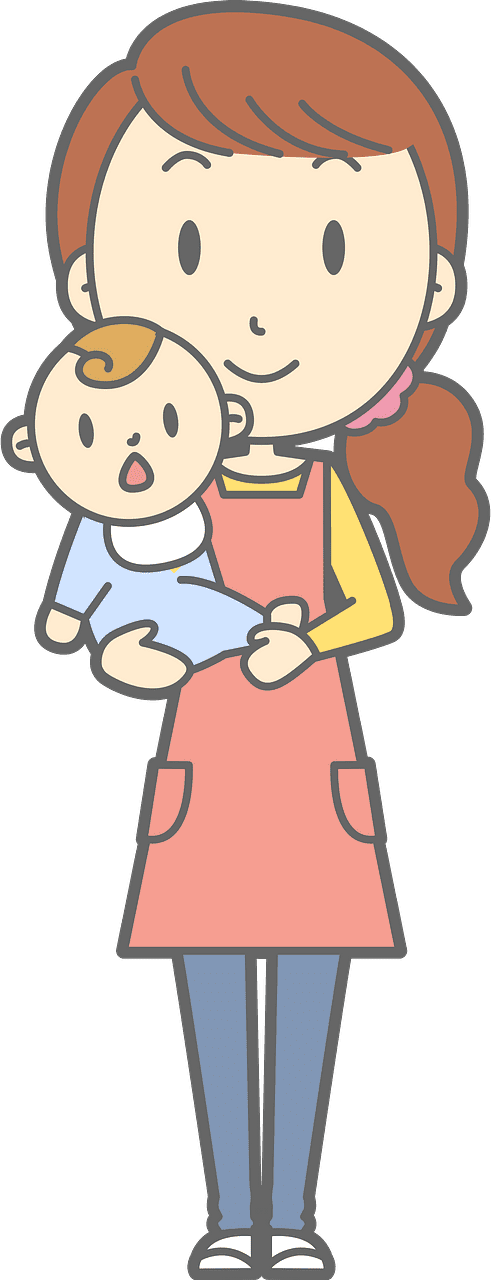 Mom and Baby clipart transparent 8