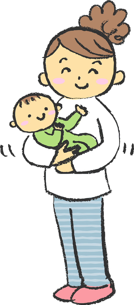 Mom and Baby clipart transparent 9