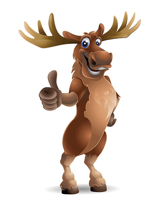 Moose clipart free 4