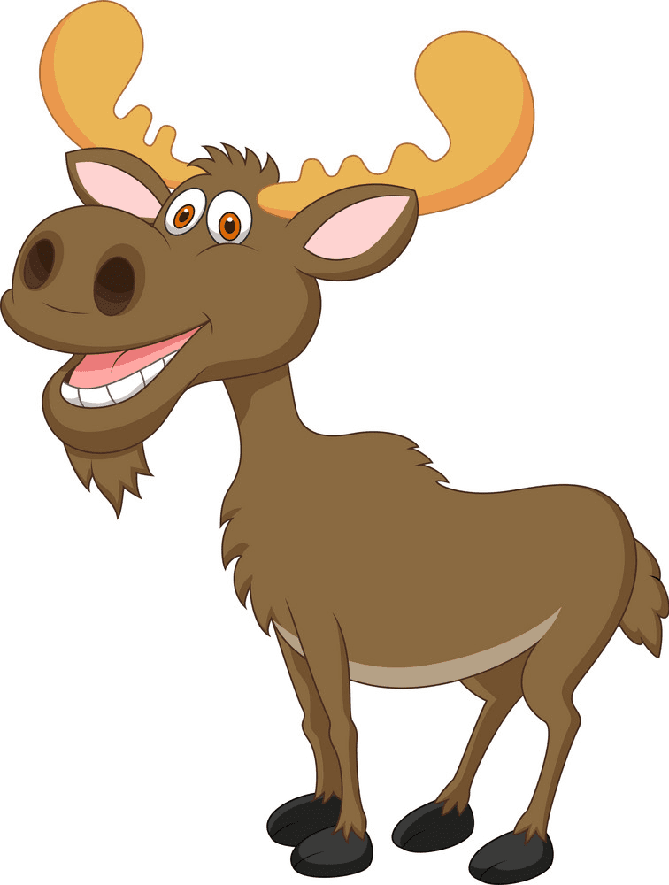 Moose clipart png free