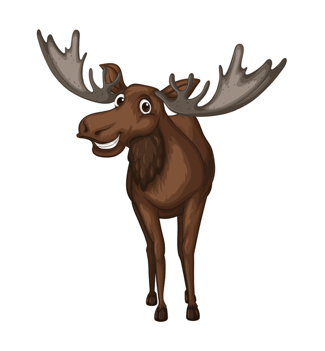 Moose clipart png image