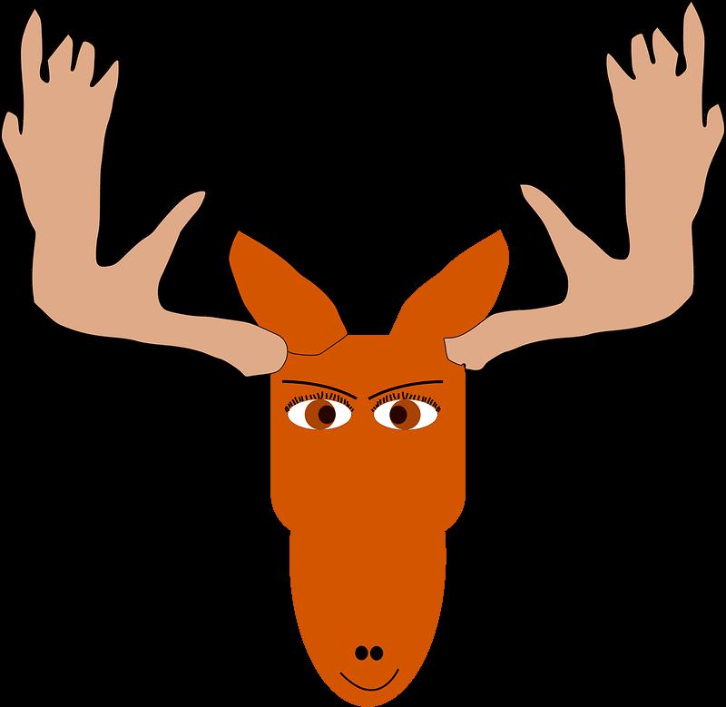 Moose clipart transparent 10