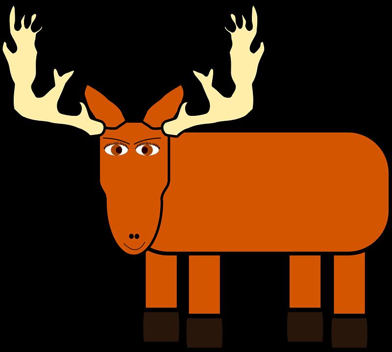 Moose clipart transparent 14