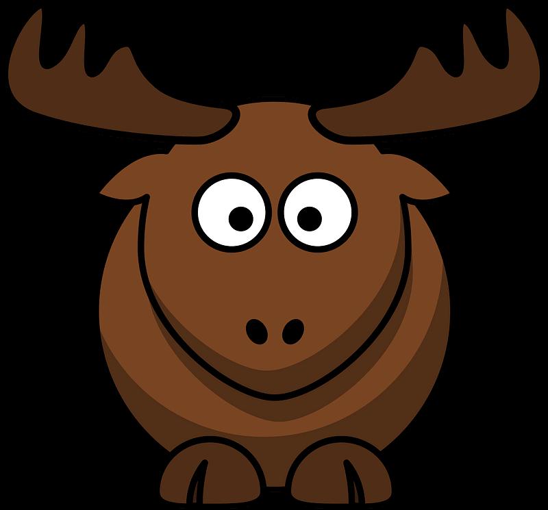 Moose clipart transparent 15