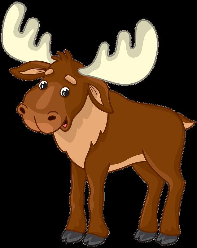 Moose clipart transparent 6