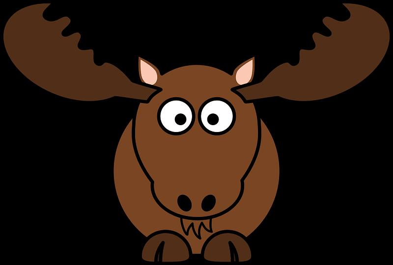 Moose clipart transparent