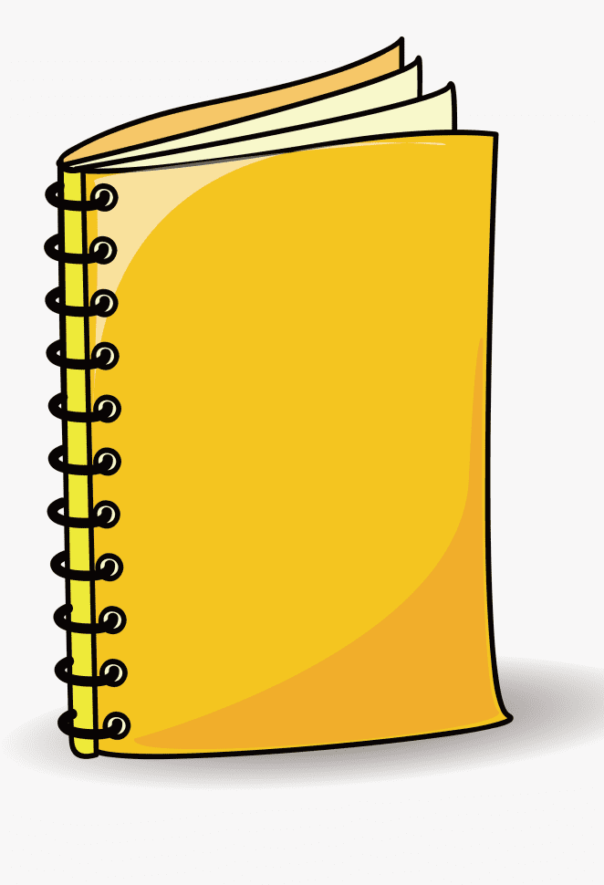 Notebook Clipart