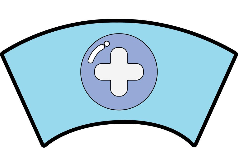 Nurse Hat clipart 3