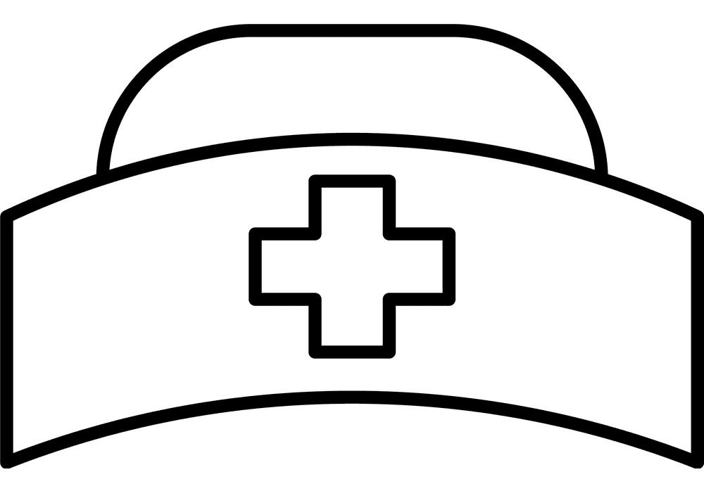 Nurse Hat clipart 7