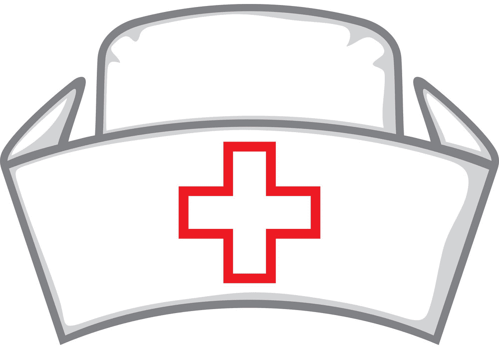 Nurse Hat clipart for free