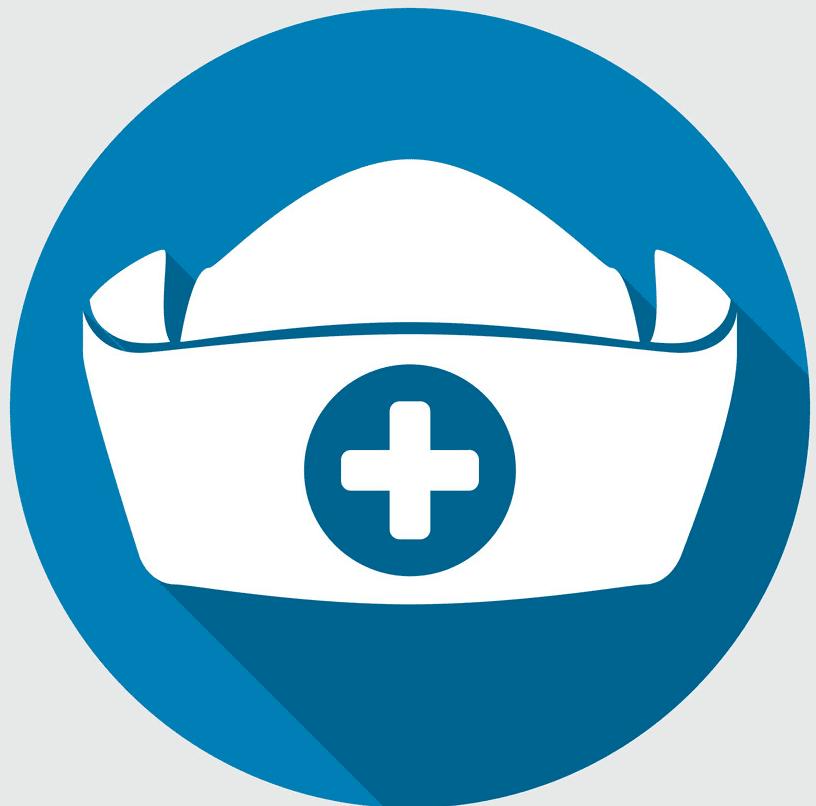 Nurse Hat clipart image