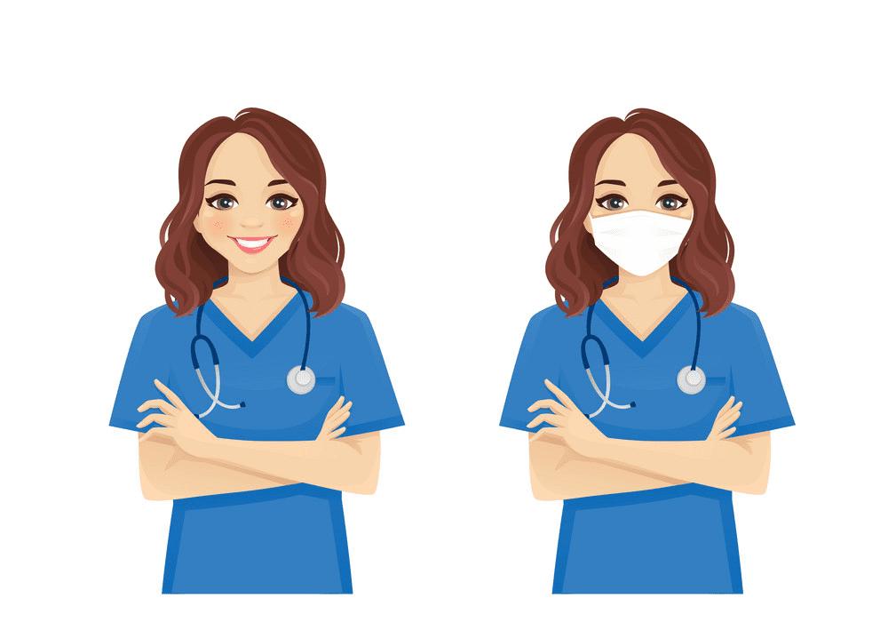 Nurse clipart 1