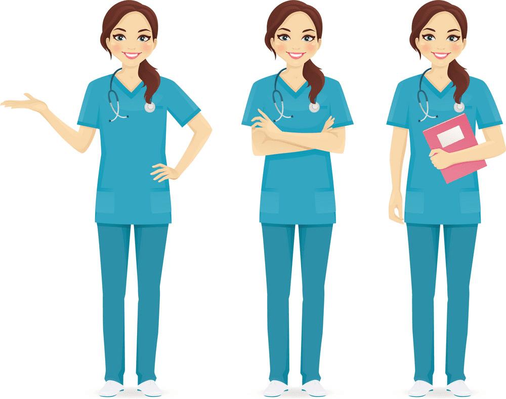 Nurse clipart 2