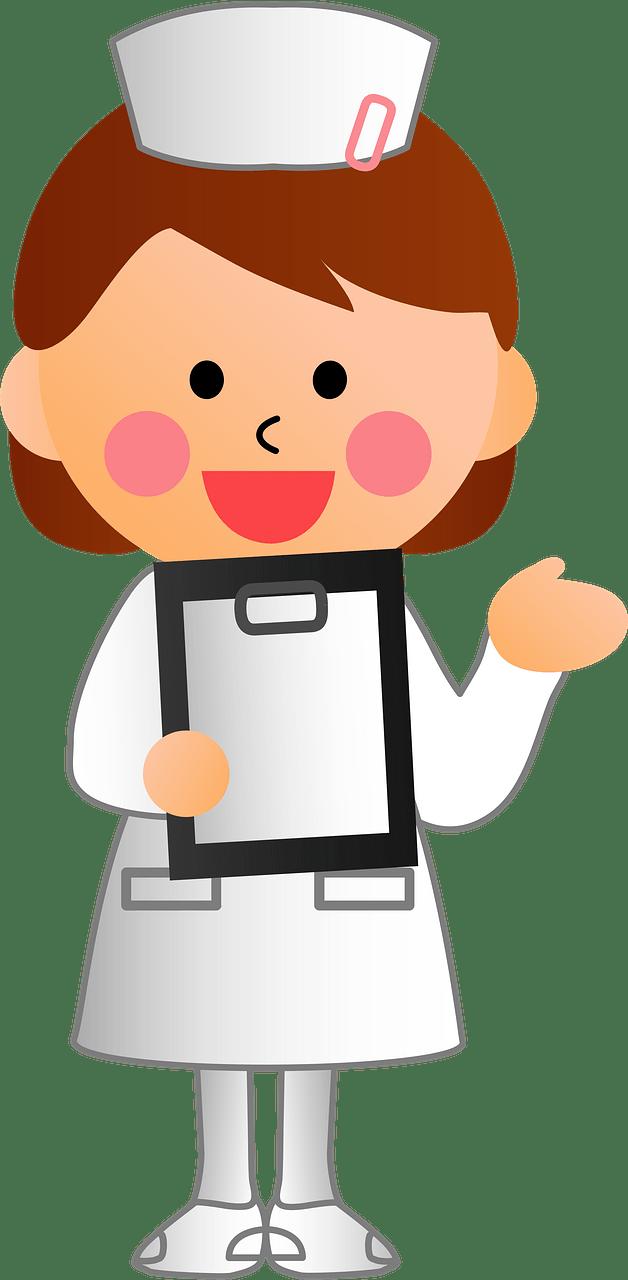 Nurse clipart transparent 12