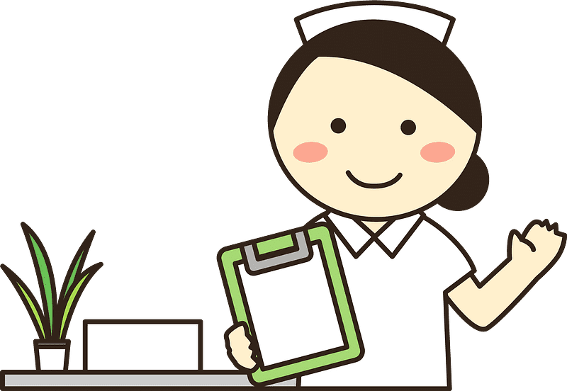 Nurse clipart transparent 14