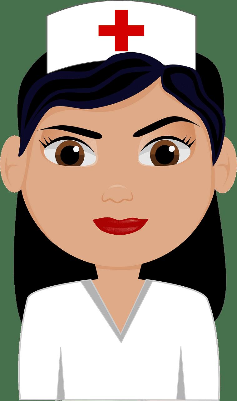 Nurse clipart transparent background 11