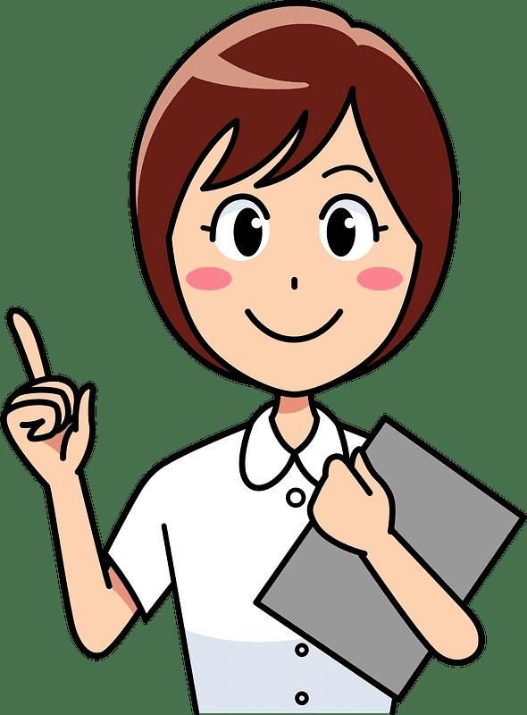 Nurse clipart transparent background 13
