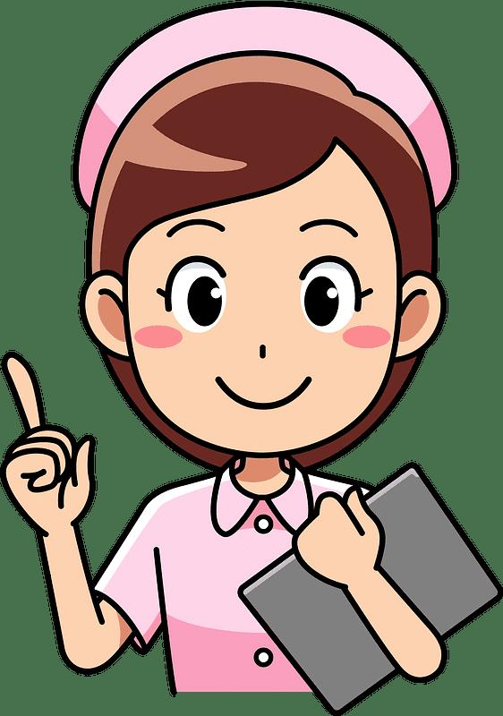 Nurse clipart transparent background 5