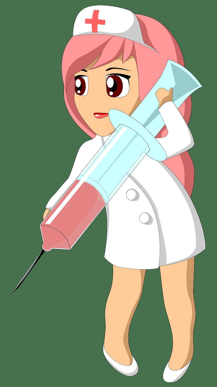 Nurse clipart transparent background 8